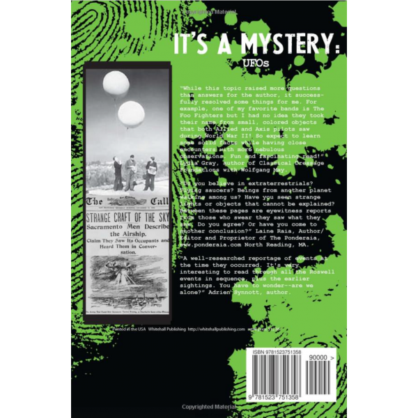 It's A Mystery: UFOs: UFOs (Volume 6)